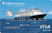 Holland American Line Rewards Visa Card Image
