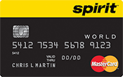 Spirit Airlines World MasterCard® Credit Card Image
