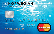 Norwegian Cruise Line® World MasterCard® Credit Card Image