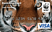 World Wildlife Fund Credit Card Image