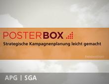APG SGA PosterBox – strategische Kampagnenplanung leicht gemacht