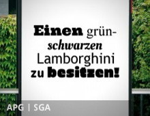 APG|SGA Kampagne – Was wünschst Du Dir?