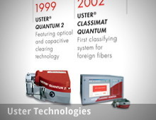 Uster Technologies – History in Flash