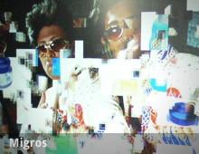 "Migros ""I am"" – interaktive Wand bei Casting Show Musicstar"