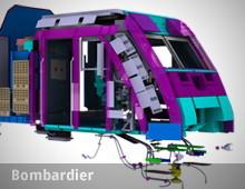 Bombardier – AR Installation an der InnoTrans in Berlin