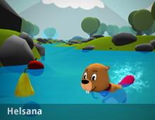 Helsi-Game – Gesunder Lebenstil für Kinder