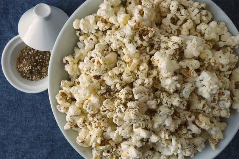 Zahtar Spiced Popcorn