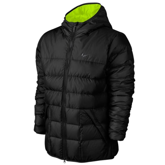 nike draft down jacket hooded winterjacke herren. Black Bedroom Furniture Sets. Home Design Ideas