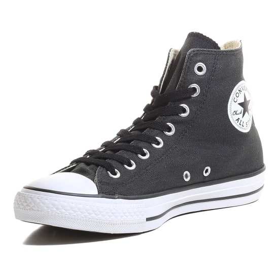 converse chuck taylor all star hi coated canvas wash. Black Bedroom Furniture Sets. Home Design Ideas
