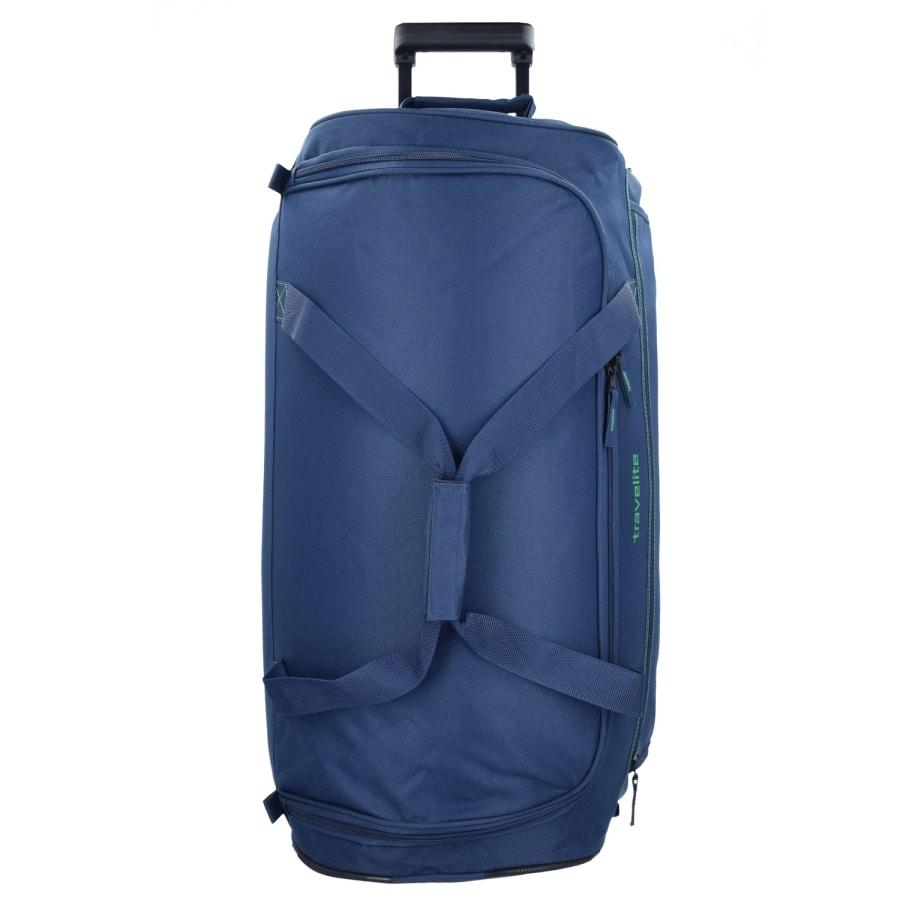 Travelite BASICS 2-ROLLEN REISETASCHE 68 CM blau