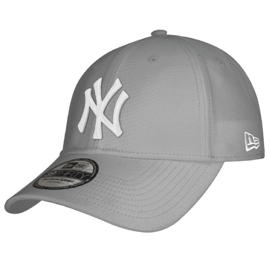 New Era New York Yankees Cappy 39THIRTY LEAGUE BASIC Herren grau