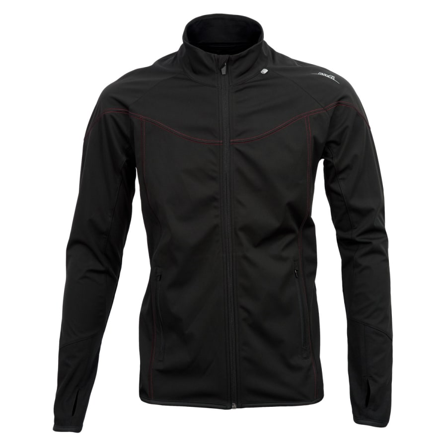 max-Q.com | SOFTSHELL LIGHT JACKET Herren | schwarz | M