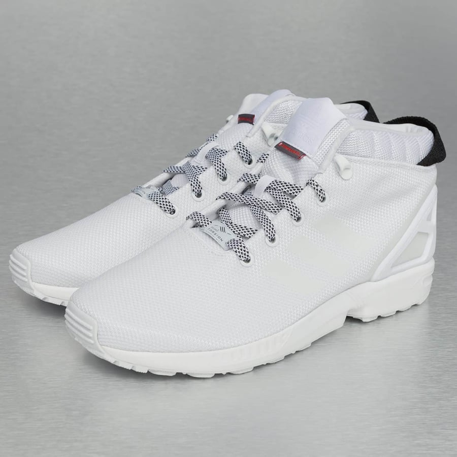 adidas ZX Flux 5-8 Sneakers White-White-Core Black