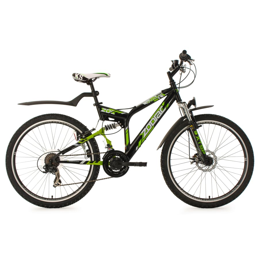 KS Cycling - 26 INCH MOUNTAINBIKE, FULLY - ATB ZODIAC MET 21 VERSNELLINGEN MTB Full Suspension Heren