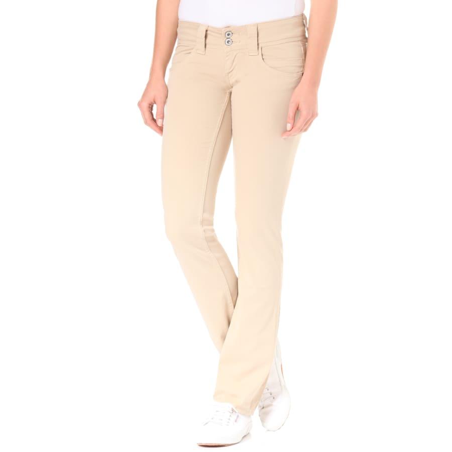 Pepe Jeans VENUS HOSE Chino Damen beige W31L32 PL210717T412