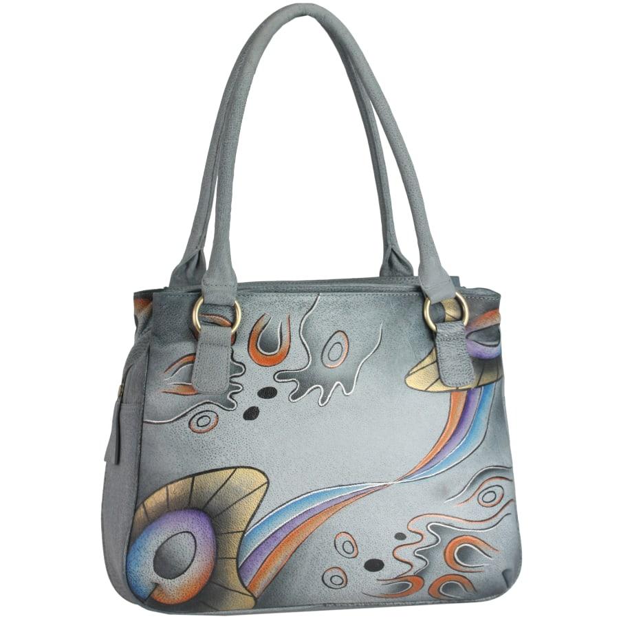 NATURE Art + Craft Henkeltasche Leder 37 cm Damen