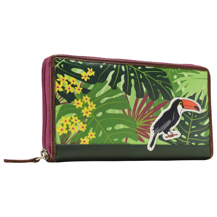 Chiemsee JUNGLE Geldbörse LEDER 20 CM Damen braun