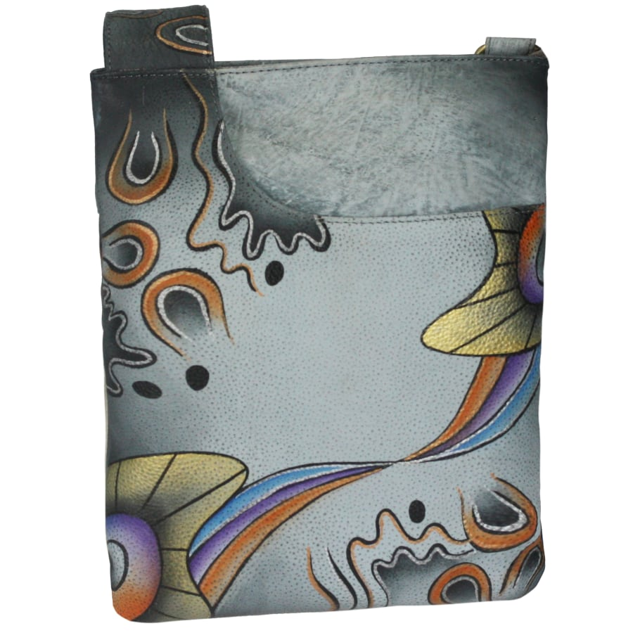 NATURE Art + Craft Umhängetasche Leder 22 cm Damen