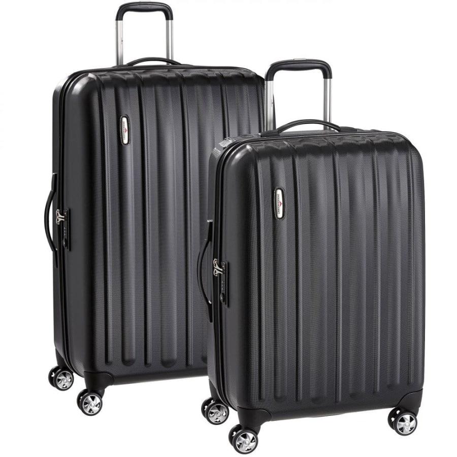 Profile Plus 2teiliges Set Koffer-Trolleys mit 4 Rollen (Zwillingsrollen)