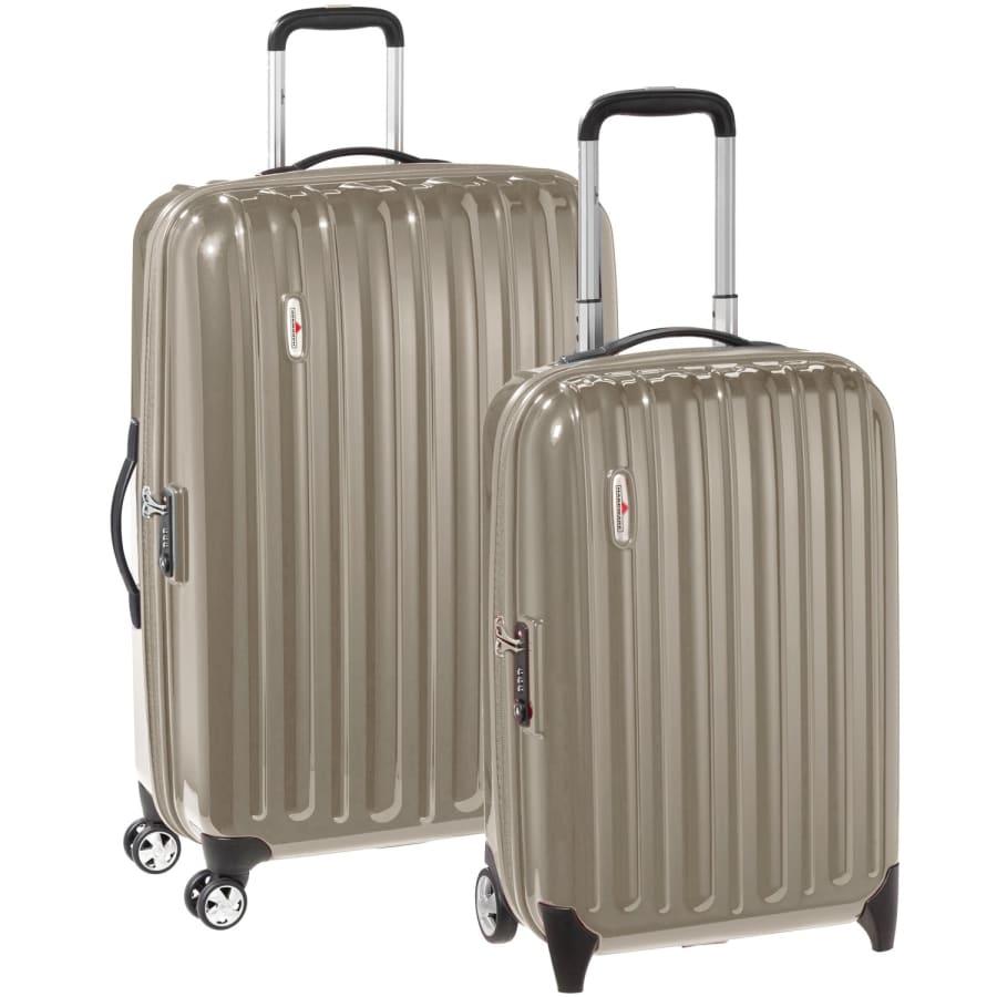 Profile Plus 2teiliges Set Koffer-Trolleys mit 2/4 Rollen (Zwillingsrollen) Kinder