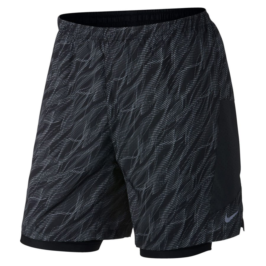"7"""" PURSUIT 2-IN-1 SHORT PRINTED Laufshorts Herren"