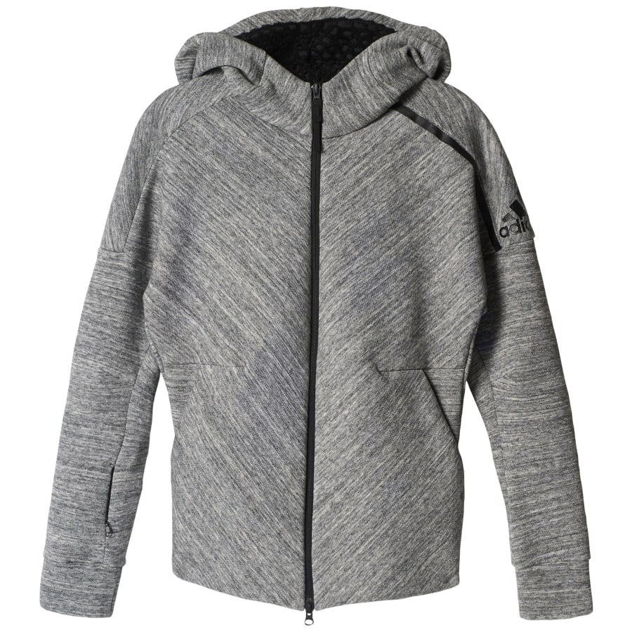 adidas Z.N.E. ROAD TRIP KAPUZENJACKE Trainingsjacke Damen grau