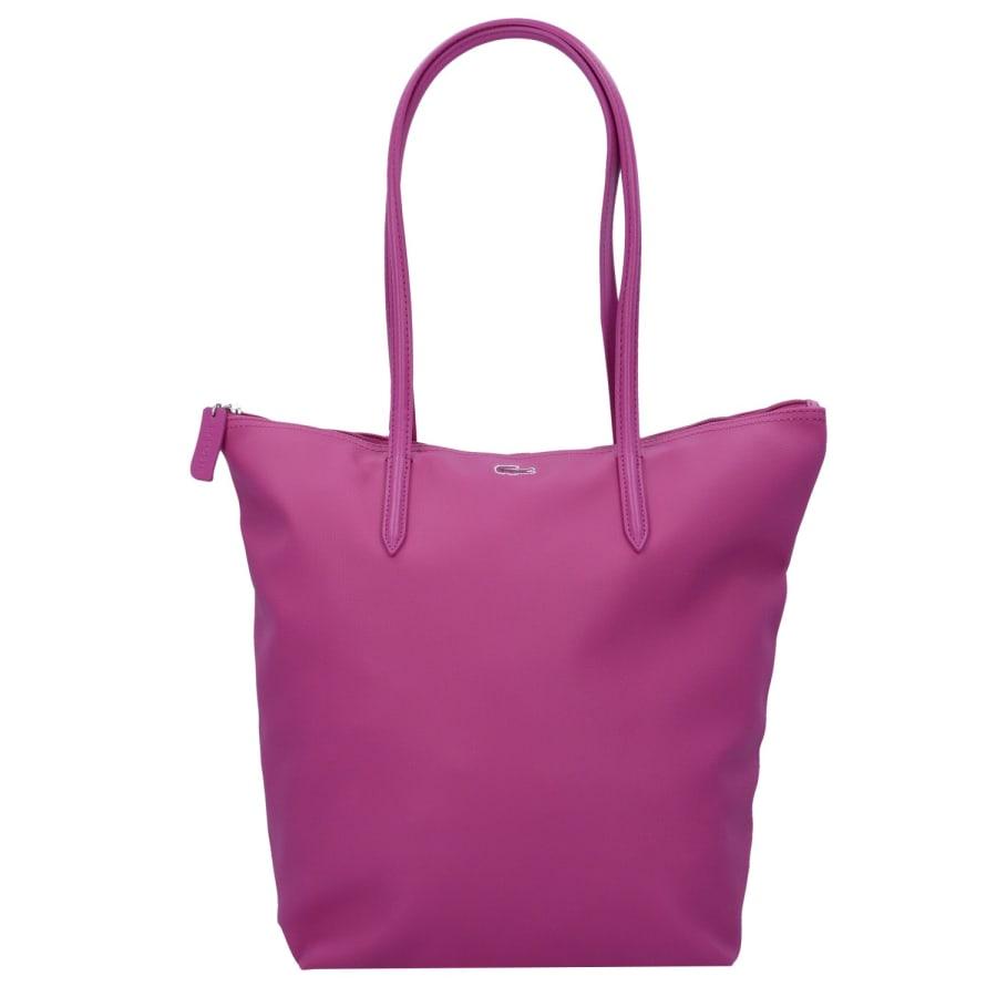Lacoste SAC FEMME L1212 CONCEPT VERTICAL SHOPPER TASCHE 39 CM Handtasche Damen pink