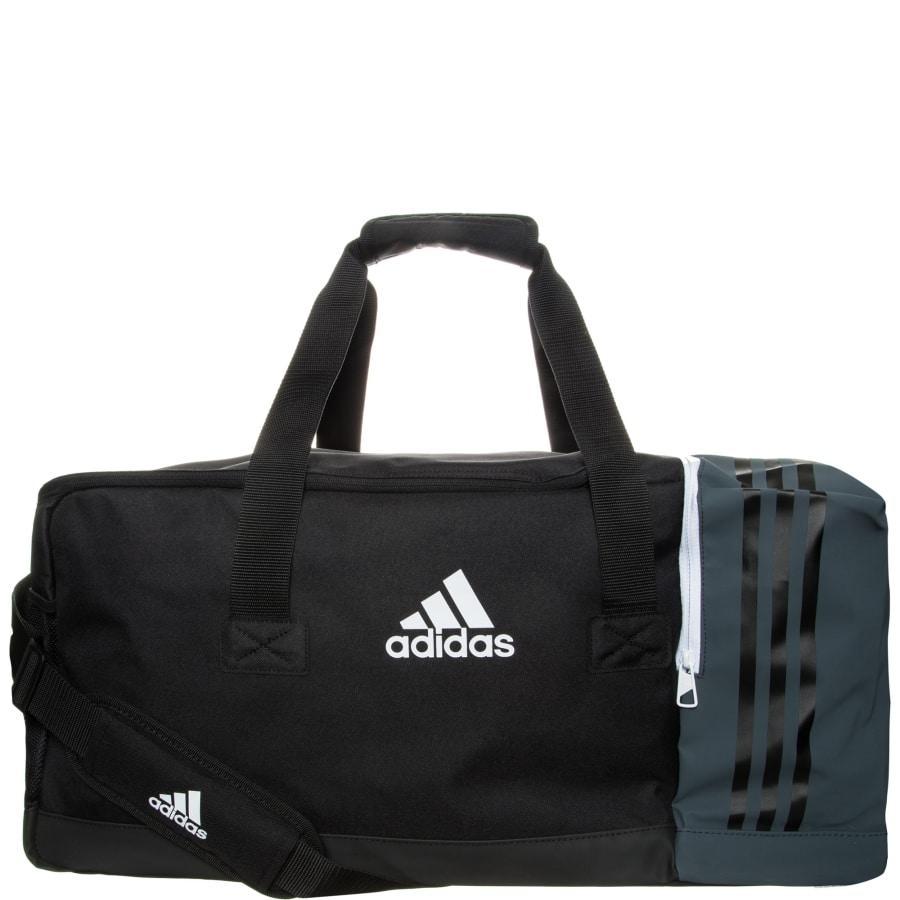 adidas TIRO TEAM BAG M FUßBALLTASCHE Sporttasche schwarz-grau