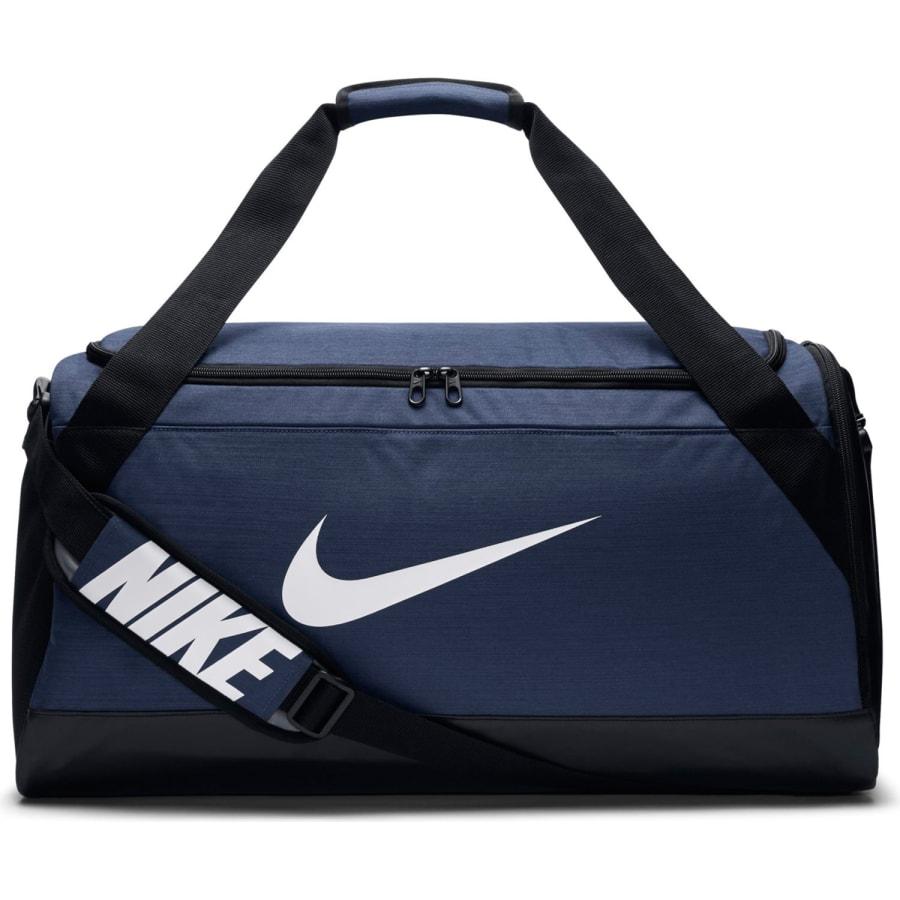 Nike BRASILIA MEDIUM DUFFEL SPORTTASCHE 62 CM blau