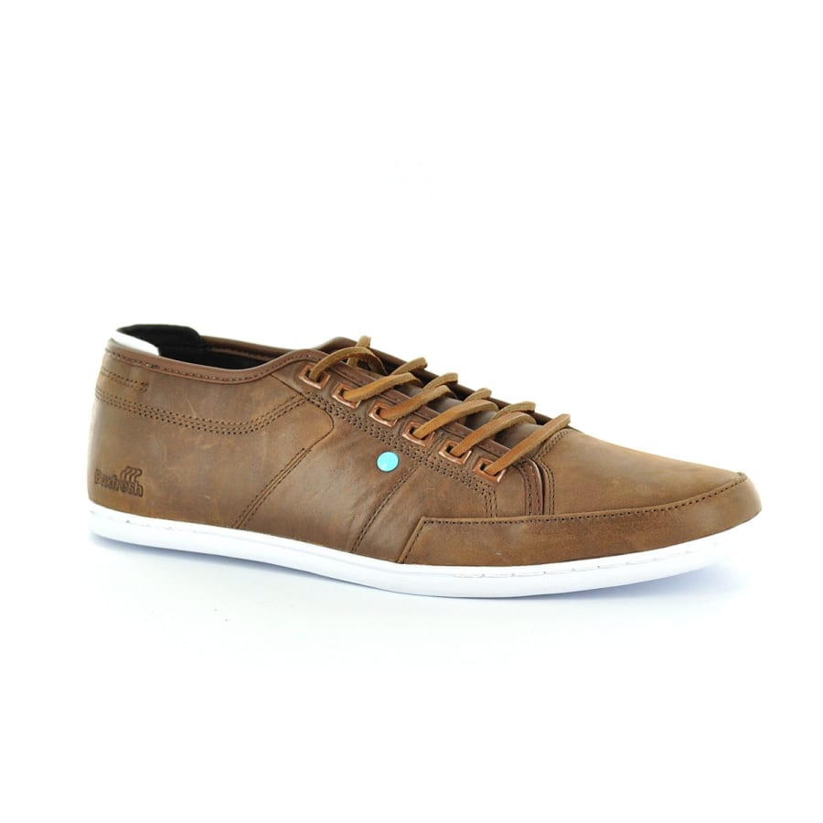 Boxfresh | SPARKO LEATHER Sneaker Low Herren | braun | 40