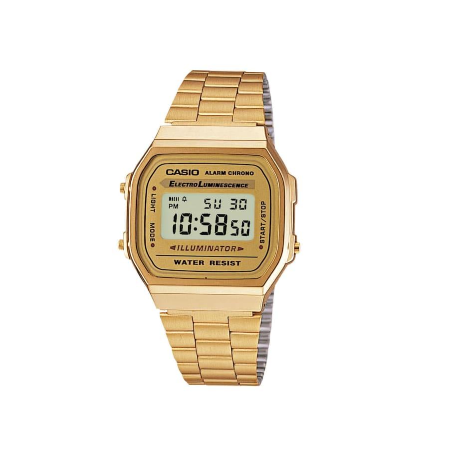 Casio A168 WG Digitaluhr gold onesize A168WG 9EF