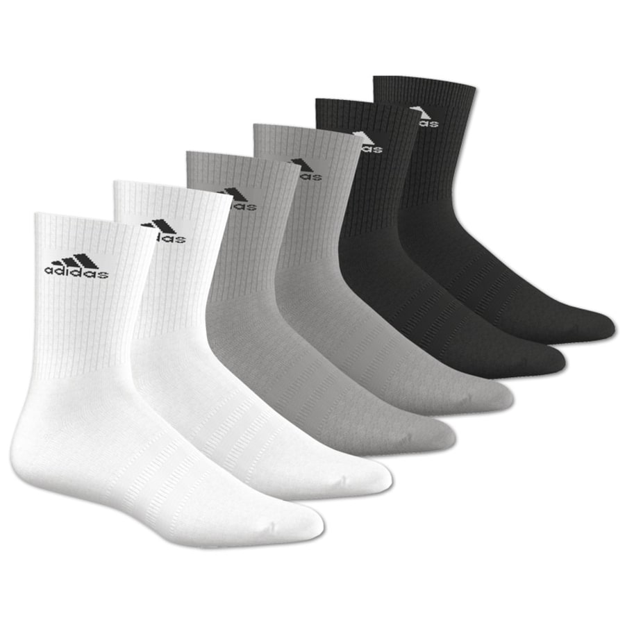 3S PERFORMANCE CREW HC 6PACK Socken