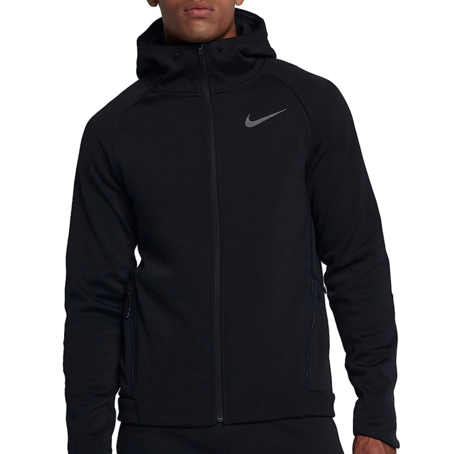 Nike THERMA-SPHERE MAX HOODED FZ JACKET Herren schwarz
