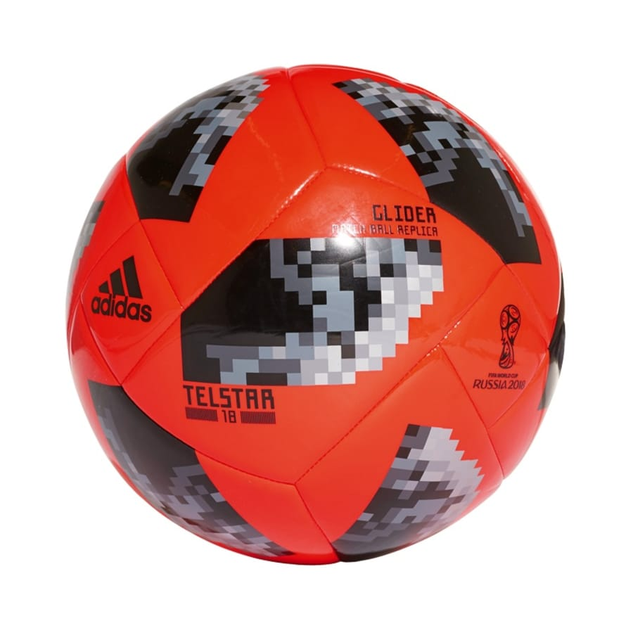 adidas WORLD CUP GLIDER Fußball orange-grau