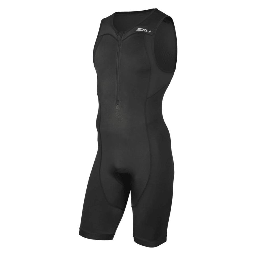 2XU | ACTIVE TRISUIT Triathlonanzug Herren | schwarz | L