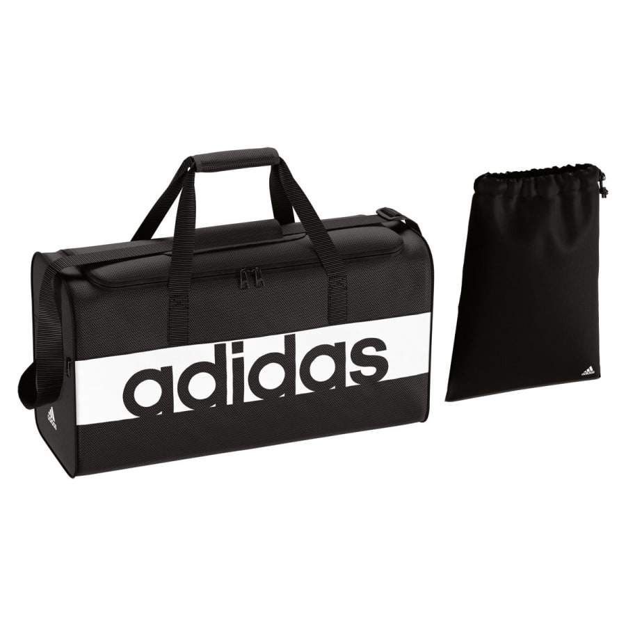 adidas LINEAR PERFORMANCE TEAMBAG MEDIUM Sporttasche schwarz
