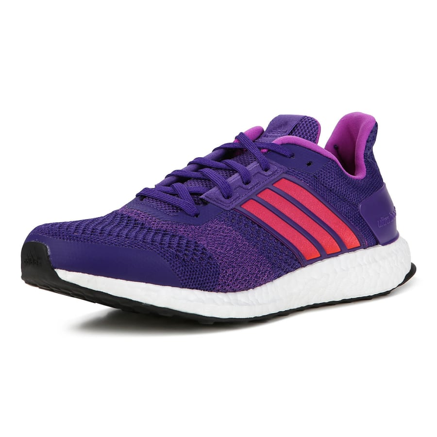 adidas ultra boost st laufschuhe damen lila pink vaola. Black Bedroom Furniture Sets. Home Design Ideas