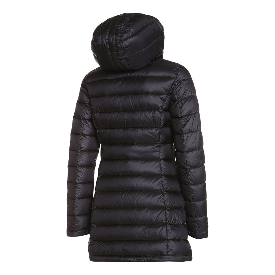 cmp fix hood coat daunenmantel damen schwarz vaola. Black Bedroom Furniture Sets. Home Design Ideas