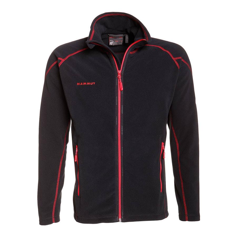 mammut yadkin jacket fleecejacke herren schwarz rot. Black Bedroom Furniture Sets. Home Design Ideas