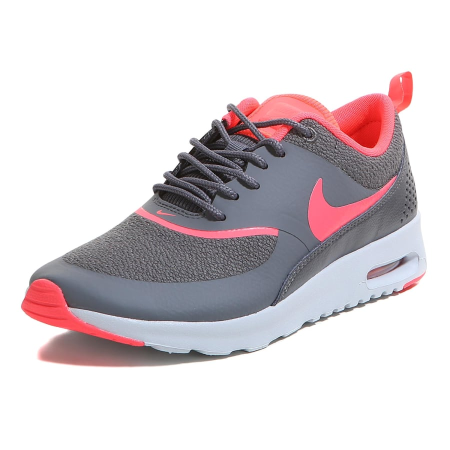 nike air max thea sneaker damen grau apricot vaola. Black Bedroom Furniture Sets. Home Design Ideas