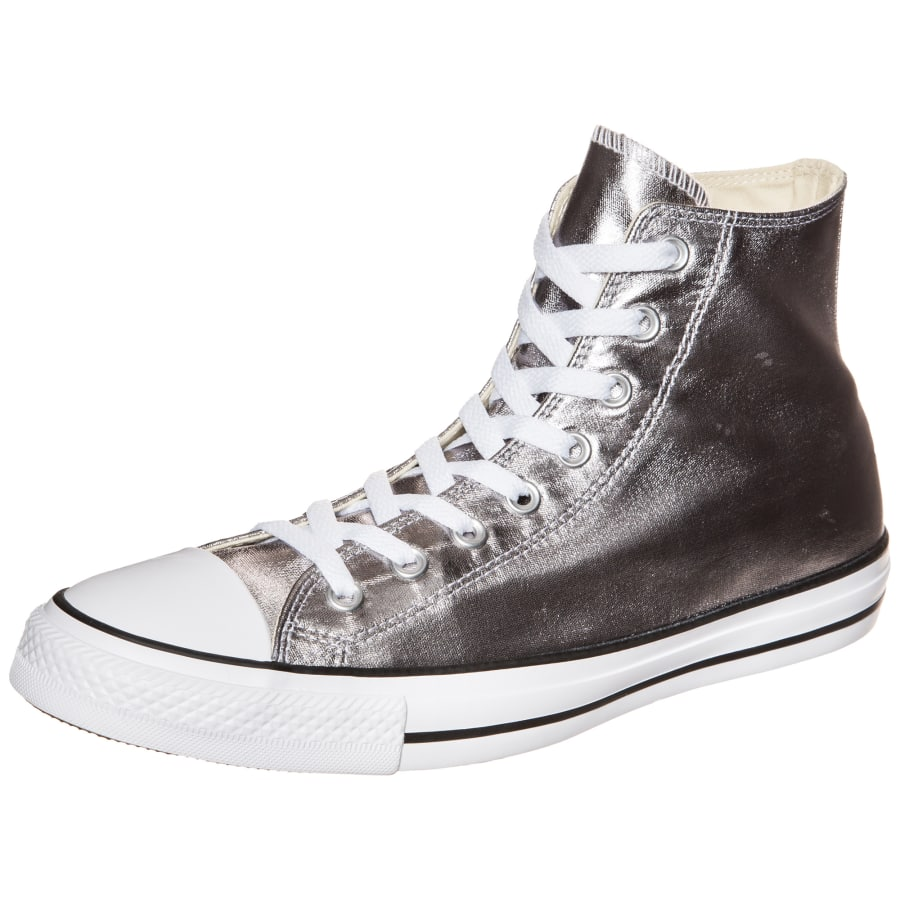converse chuck taylor all star high sneakers silber. Black Bedroom Furniture Sets. Home Design Ideas