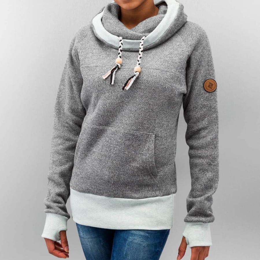 shisha kroon sweater pullover damen grau vaola. Black Bedroom Furniture Sets. Home Design Ideas