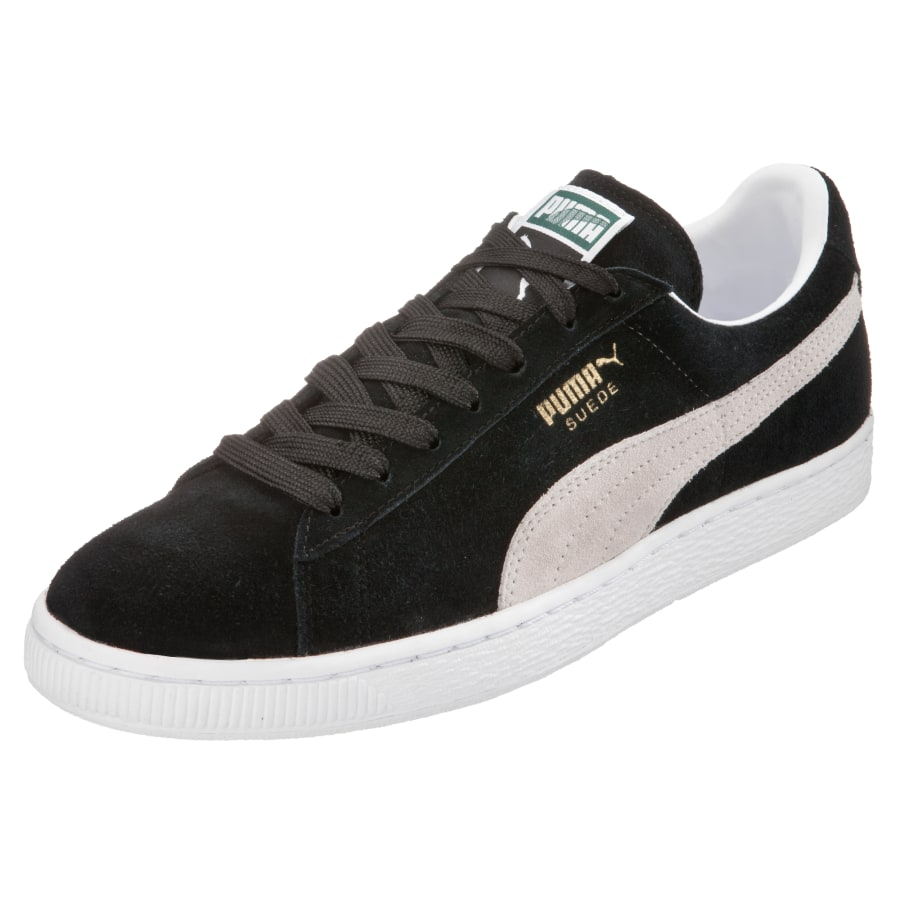 puma suede classic eco freizeitschuh herren schwarz. Black Bedroom Furniture Sets. Home Design Ideas