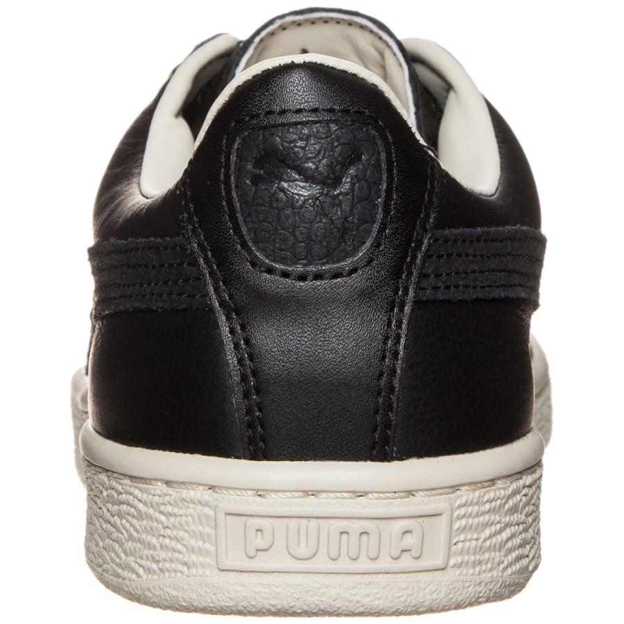 puma basket classic citi sneakers schwarz beige vaola. Black Bedroom Furniture Sets. Home Design Ideas