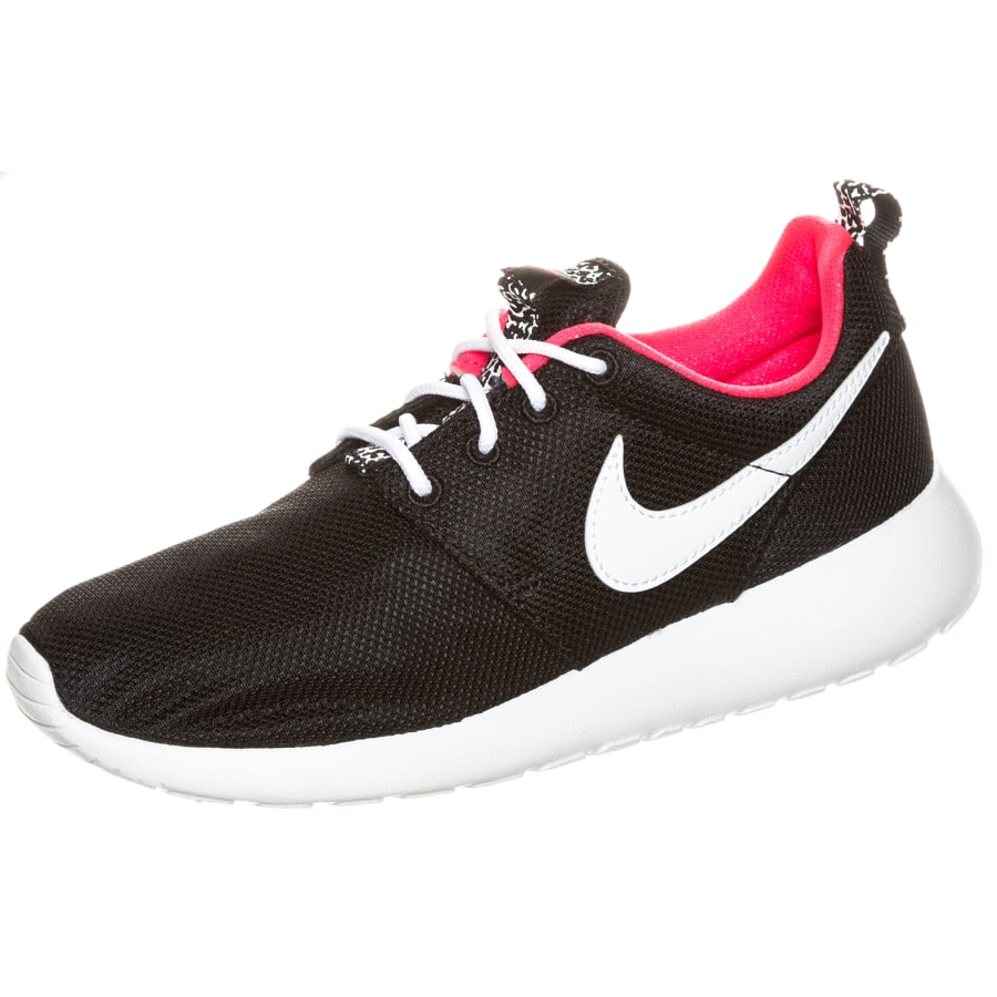 nike roshe run sneaker kinder schwarz wei vaola. Black Bedroom Furniture Sets. Home Design Ideas