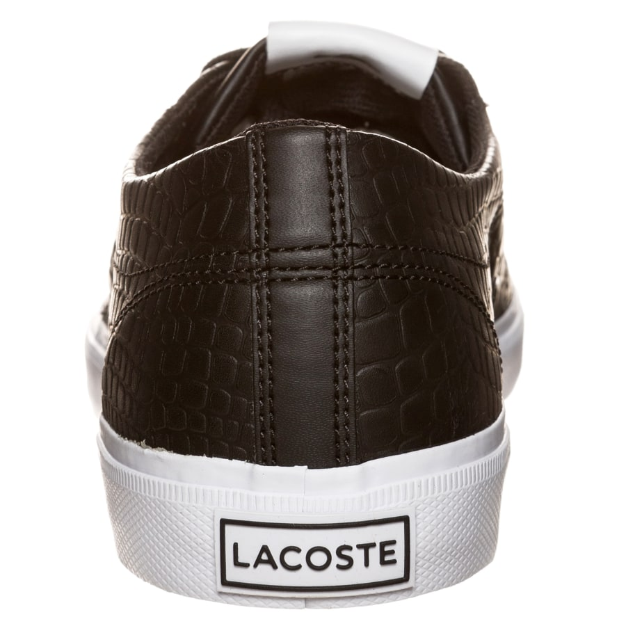 lacoste marcel chunky croc sneaker herren schwarz wei. Black Bedroom Furniture Sets. Home Design Ideas