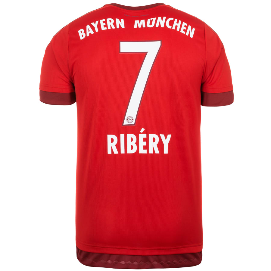 adidas fc bayern m nchen trikot home ribery 2015 2016. Black Bedroom Furniture Sets. Home Design Ideas
