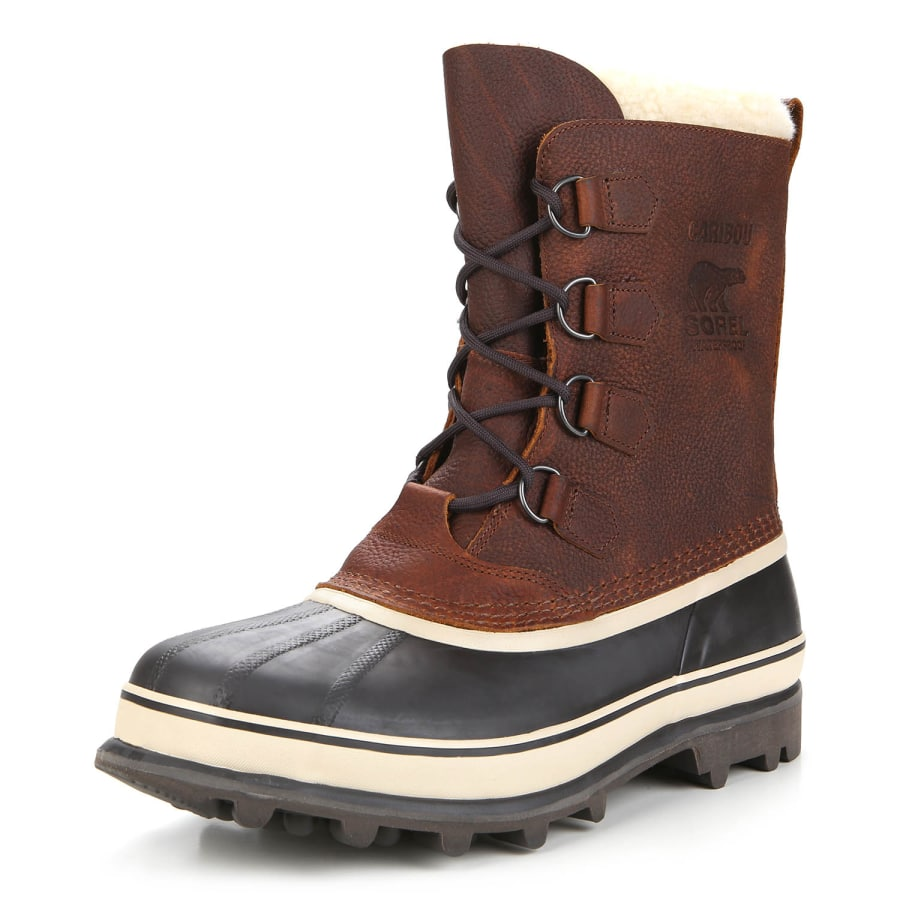 sorel caribou wl winter boots men redbrown black vaola. Black Bedroom Furniture Sets. Home Design Ideas