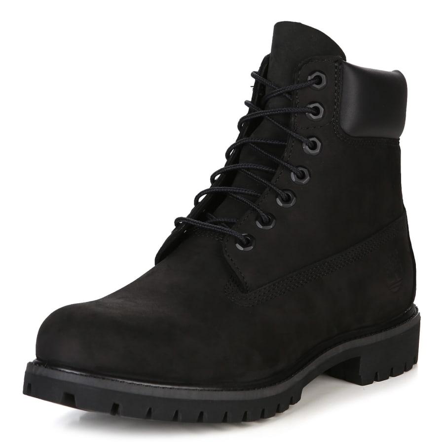 timberland 6 inch premium boot men black vaola. Black Bedroom Furniture Sets. Home Design Ideas