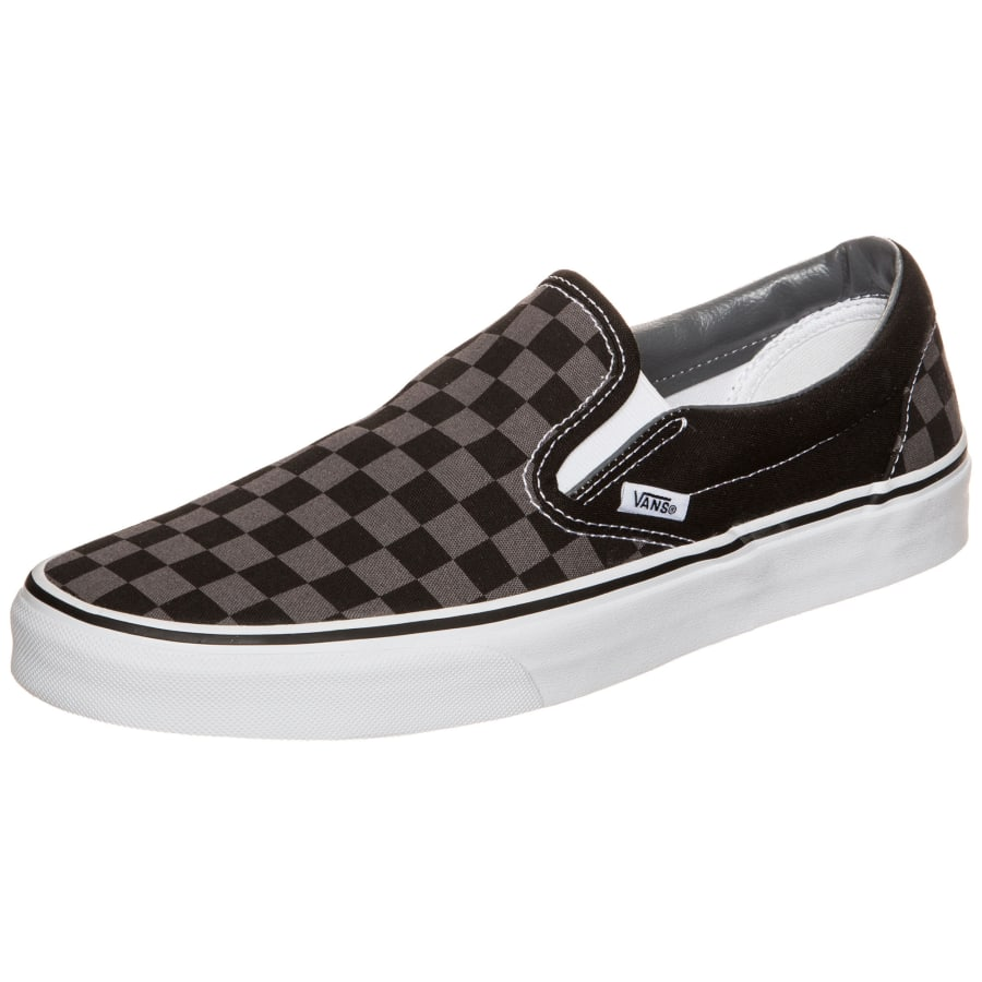 vans classic slip on checkerboard sneakers schwarz. Black Bedroom Furniture Sets. Home Design Ideas